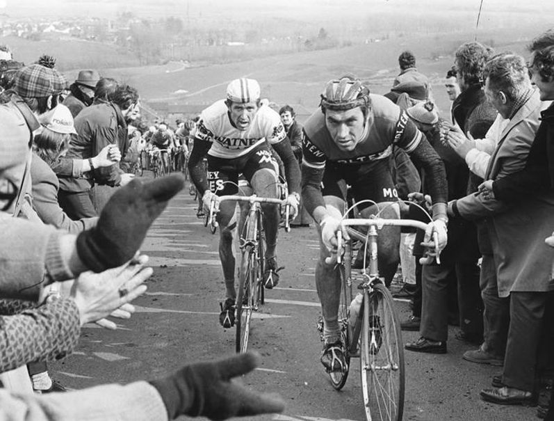 Image of Eddy Merckx and Frans Verbeeck