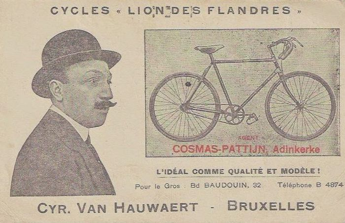 Cyrille Van Hauwaert, The first Lion of Flanders