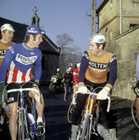 Image of Roget De Vlaeminck and Eddy Merckx