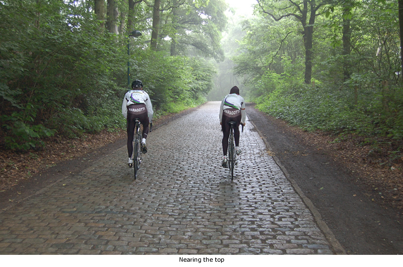 Image of Nico Mattan on the cobbles