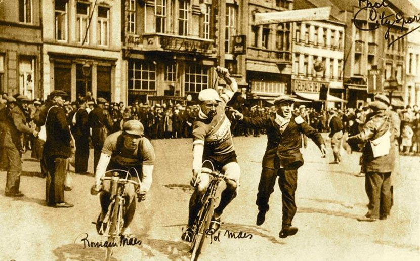 The Tour of Flanders when Briek first saw it.