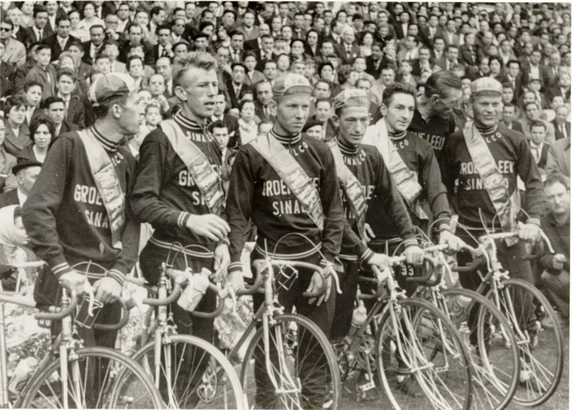 The Groene Leeuw team in the 1960s