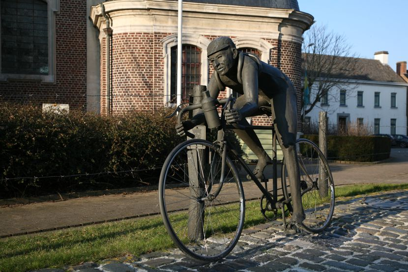 Schotte is remembered in his birthplace with this beautiful statue