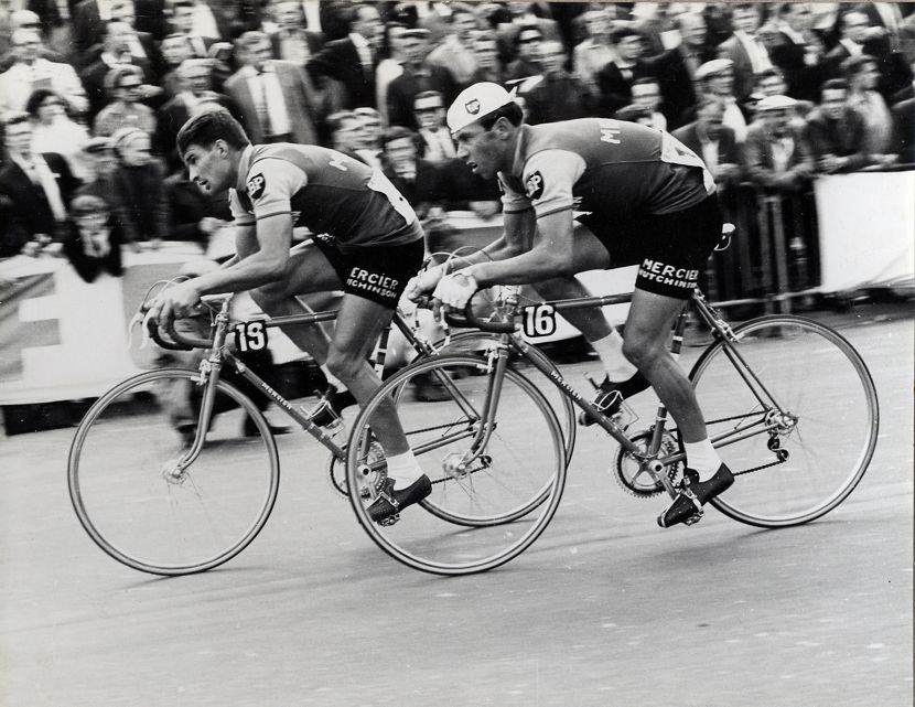 Image of Barry Hoban and Raymond Poulidor