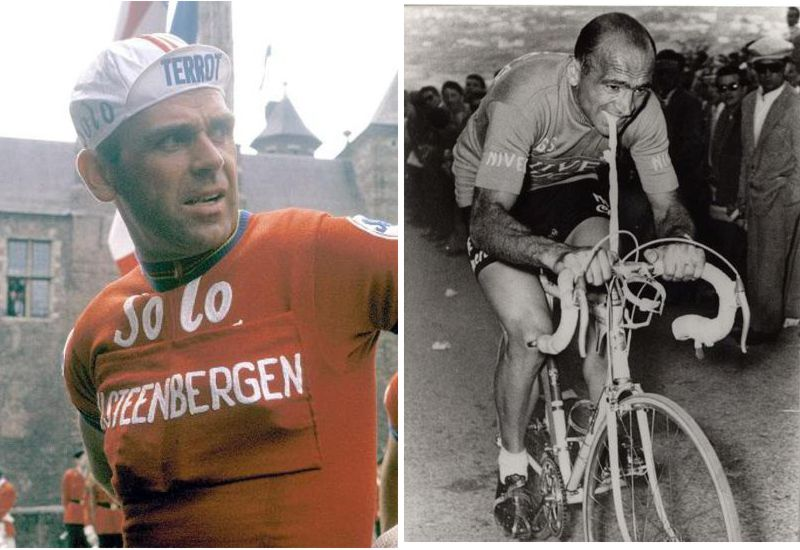 Image of Rik Van Steenbergen left and Fiorenzo Magni right