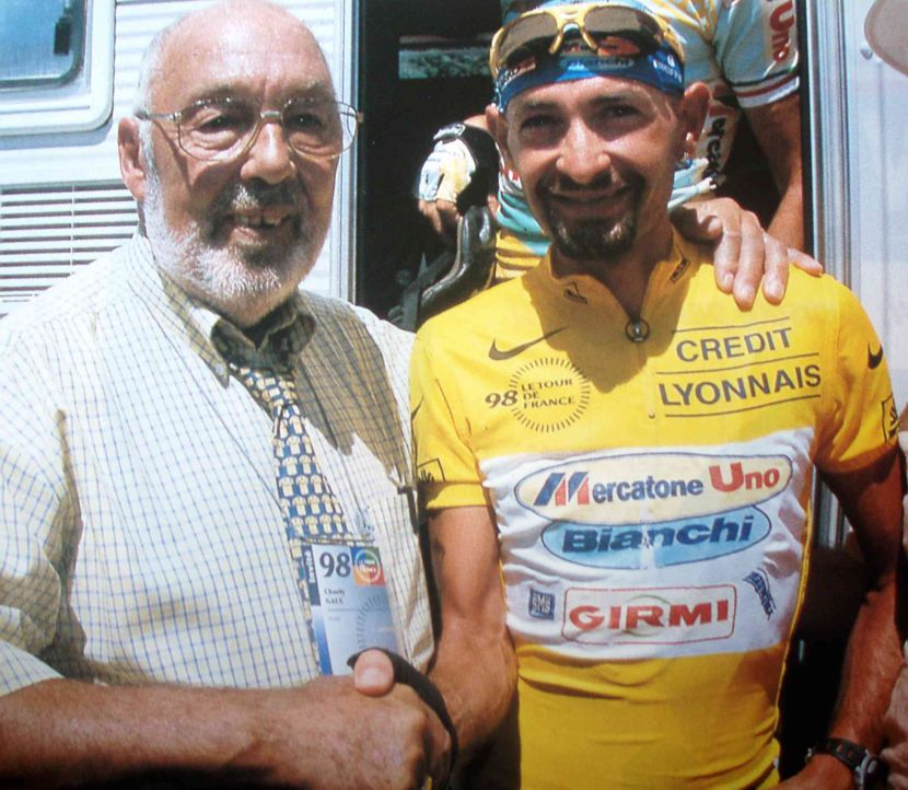Image of Charly Gaul and Marco Pantani