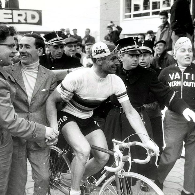 3 Van Looy reckons Merckx can't take a joke